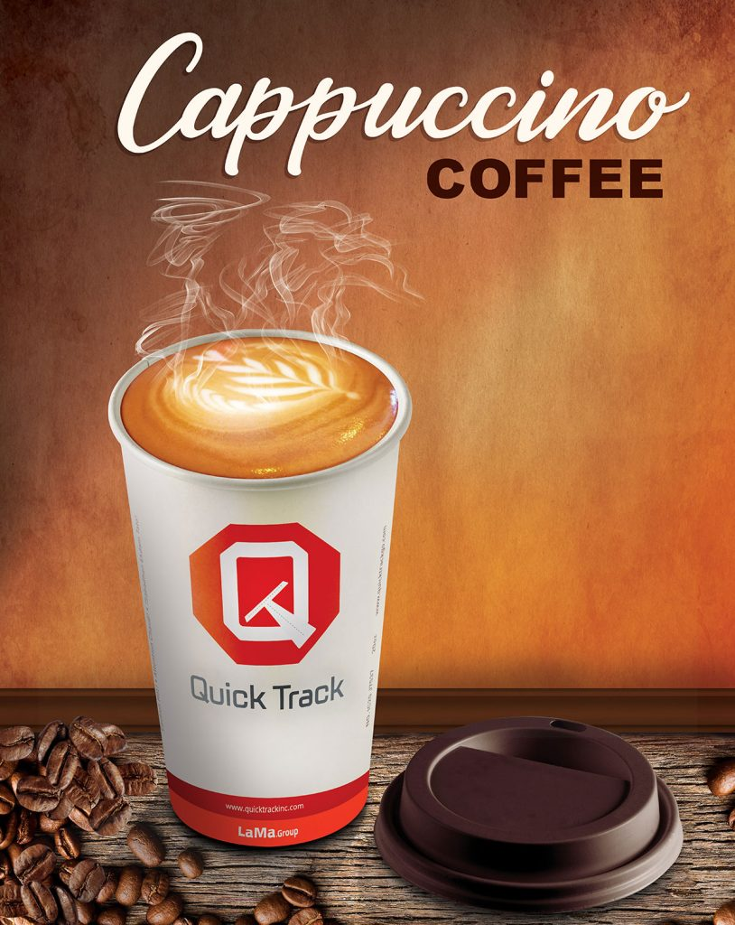 Cappuccino Coffee, Quick Track Inc, Texas