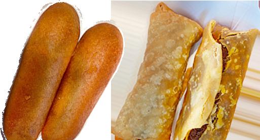 Quick Track Sausage stick and Crispito